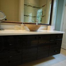 Modern Bathroom by Griffith Construction & Design, Inc.