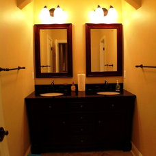 Traditional Bathroom by The Southern Basement Company