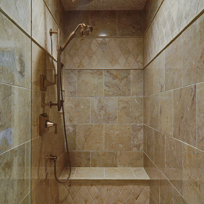 Example of a classic mosaic tile bathroom design in Nashville
