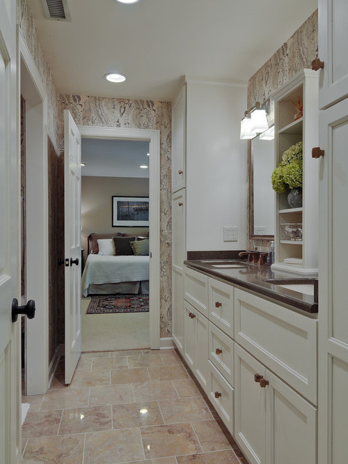 Jack and jill bathroom houzz - Jack and jill bathroom plans ...