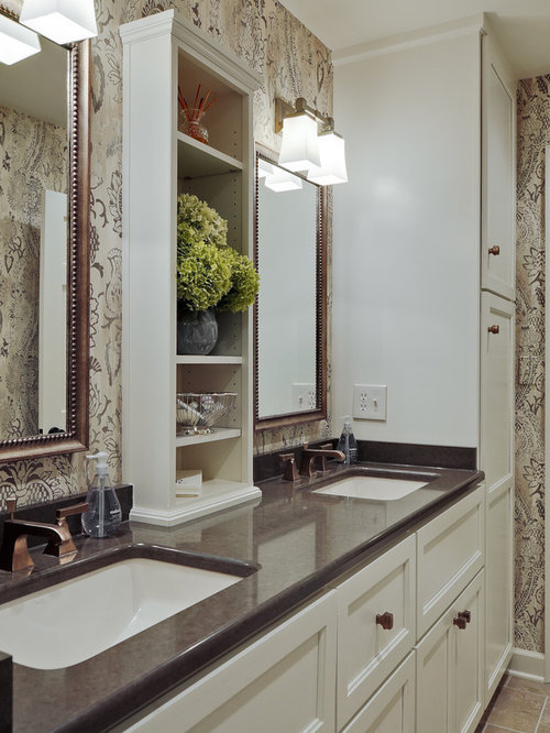 Inspiration For A Timeless Bathroom Remodel In Nashville With An Undermount  Sink, Recessed Panel