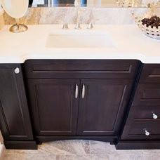 Transitional Bathroom by Starline Cabinets