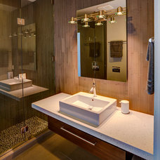 Contemporary Bathroom by Kevin B Howard Architects, AIA