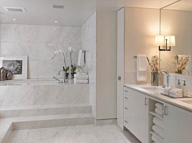 Contemporary Bathroom by Krome Construction