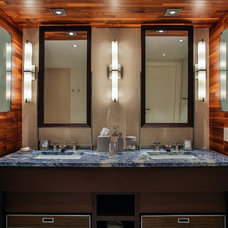 Contemporary Bathroom by Miriam Moore Design Studio LLC