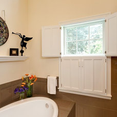 Traditional Bathroom by Powell Construction