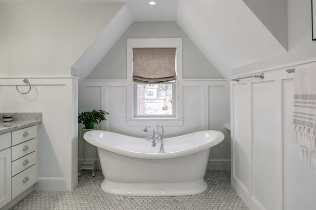 Traditional Bathroom by Moser Architects PLLC