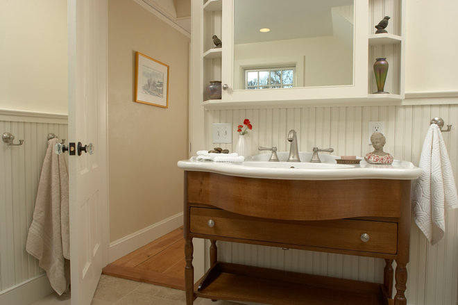 Traditional Bathroom by Wilkinson Design+Construction
