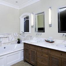 Contemporary Bathroom by B&R Creative Builders