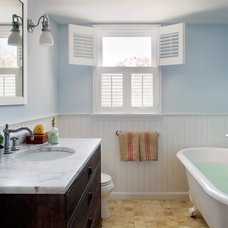 Beach Style Bathroom by kelly mcguill home