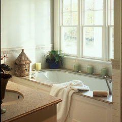 traditional bathroom by Huestis Tucker Architects, LLC