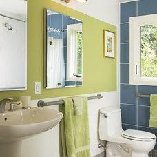 Contemporary Bathroom by Boehm Architecture