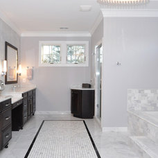 Traditional Bathroom by Capital City Builders