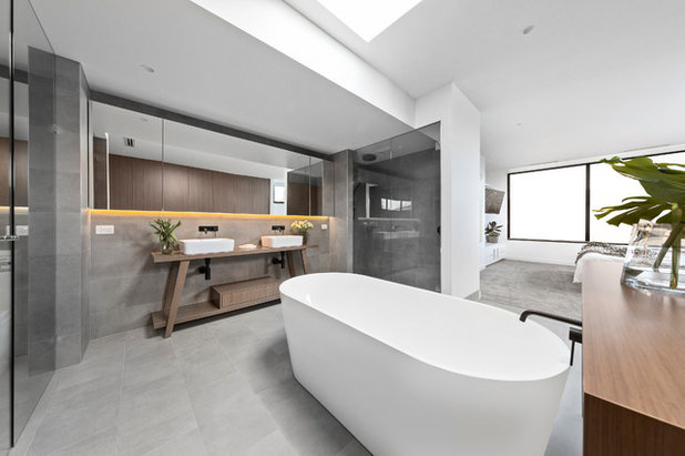 Contemporary Bathroom by Dylan James