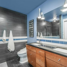 Contemporary Bathroom by W2Design, LLC