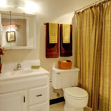 Eclectic Bathroom by Seattle Staged to Sell and Design LLC