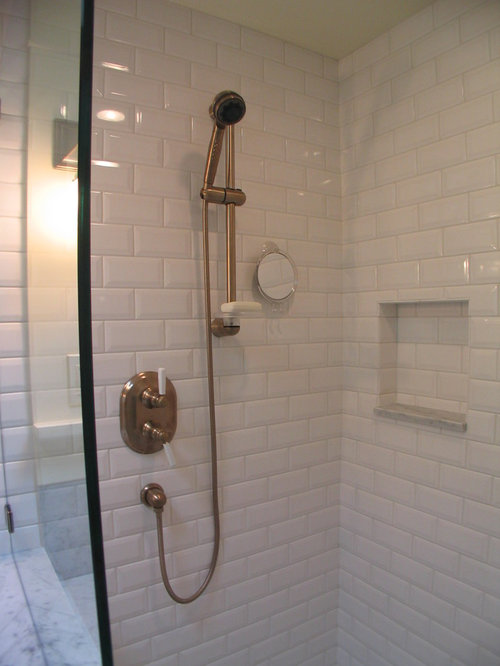SaveEmail. Beveled Subway Tile Bathroom Design Ideas  Remodels  amp  Photos