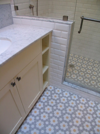 Craftsman Bathroom by Motionspace Architecture + Design