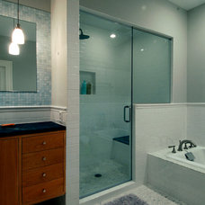 Modern Bathroom by Studio CrowleyHall, pllc