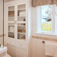 Traditional Bathroom by Danielle Grenier