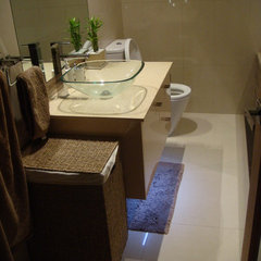 contemporary bathroom by Lincoln Mcleod