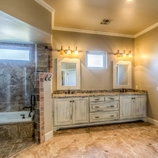 Traditional Bathroom by Punnett Construction