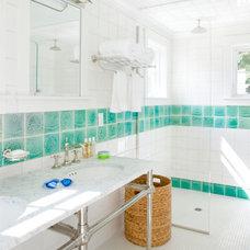 Beach Style Bathroom by Patrick Ahearn Architect