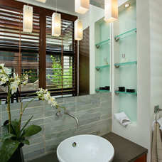 contemporary bathroom by K2 Design