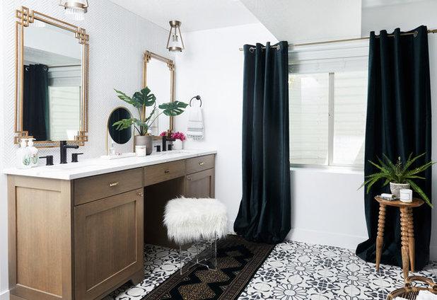 Contemporary Bathroom by Andrea West Design