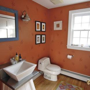 Eklektisches Badezimmer in Boston