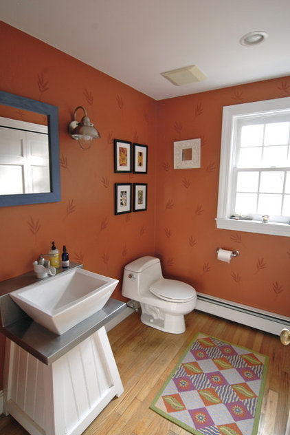 Eclectic Bathroom by Brenda Olde