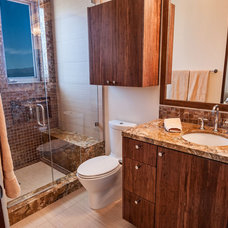 Contemporary Bathroom by Boulevard Tile and Stone Inc.