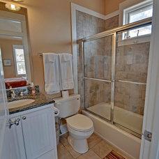 Tropical Bathroom by Envision Web