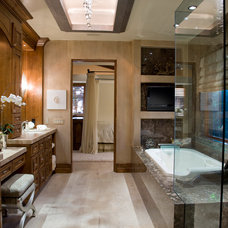 Traditional Bathroom by Friehauf Architects Inc.