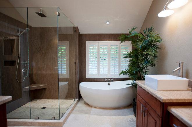 Contemporary Bathroom by Coastal Designs Inc.