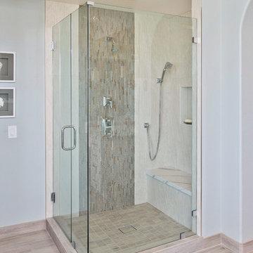 Carlsbad White Shaker Contemporary Bath