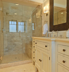 traditional bathroom by Regan Baker Design