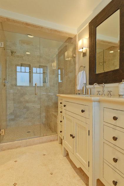 Beach Style Bathroom by Regan Baker Design