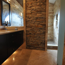 Contemporary Bathroom by Supreme Surface, Inc.