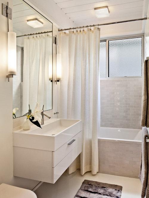 mid century modern bathroom vanity. Midcentury Modern Bathroom Photo In San Francisco With An Integrated Sink Mid Century Vanity A