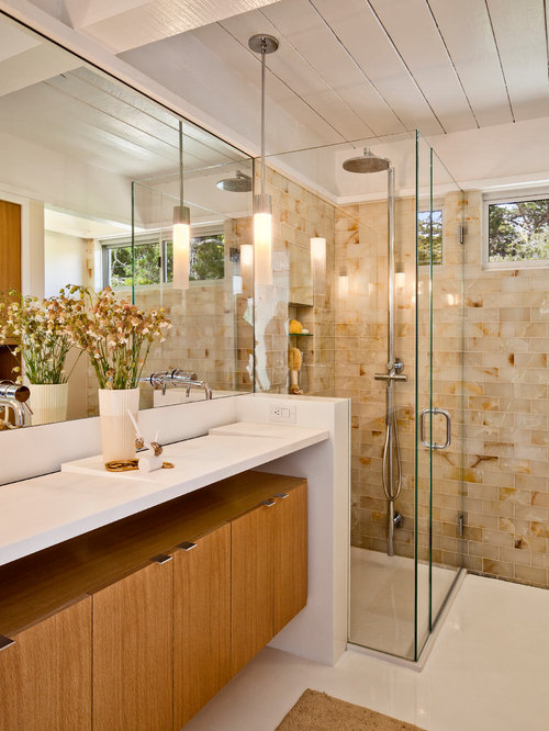 Mid Century Modern Bathroom Vanity - Mid Century Modern Bathroom Vanity Houzz