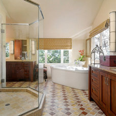 Traditional Bathroom by Scott DuBose Photography