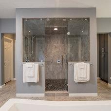 Modern Bathroom by Remodel Works Bath & Kitchen