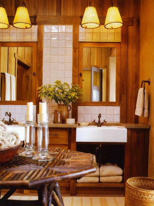 Eclectic rustic bathrooms home design photos decor ideas for Eclectic rustic decor