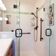 Contemporary Bathroom by Spectrum Solid Surfacing, Inc.