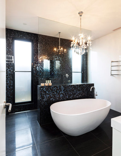 Contemporary Bathroom by Mark MacInnis Architect