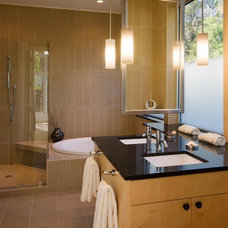 Traditional Bathroom by Carolyn Albert-Kincl, ASID