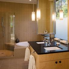 Traditional Bathroom by Carolyn Albert-Kincl, ASID