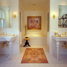 Traditional Bathroom by Carolyn Miller Interiors