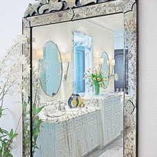 Traditional Bathroom by Jamie Herzlinger